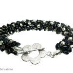 Hematite-colour-kumihimo-bracelet